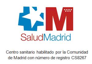 Centro sanitario habilitado por la comunidad de Madrid CS8267